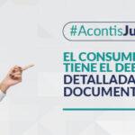 El consumidor tiene el deber de leer detalladamente los documentos que suscribe