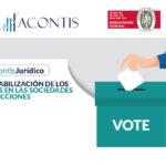 Contabilización de los votos en las sociedades por acciones